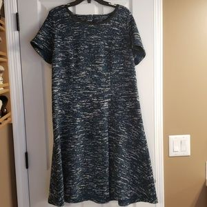 Talbots space dyed dress